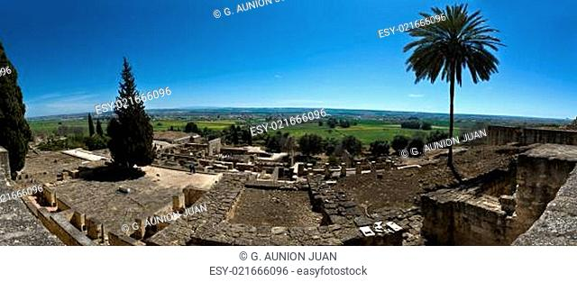 Panoramic Overview of Medina Azahara