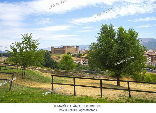 Overview. El Barco de Avila, Avila province, Castilla Leon, Spain
