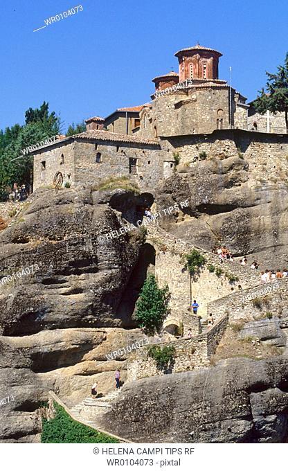 Greece, Meteora, Varlaam Monastery