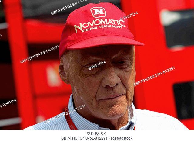 02.09.2016 - Free Practice 2, Nikki Lauda (AU), Mercedes