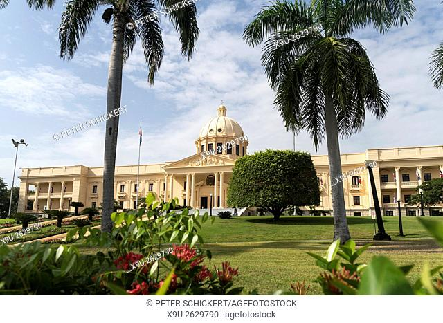 The National Palace, capital Santo Domingo, Dominican Republic, Carribean, America,