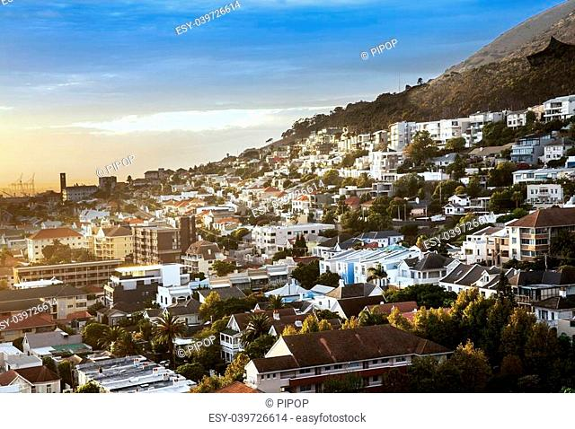 Cape Town is large city in South Africa and is the capital of the Western Cape Province