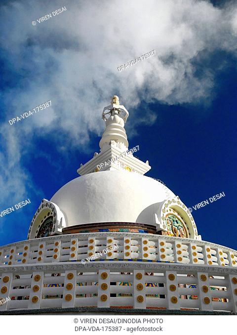 Stupa , Leh , Ladakh , Jammu And Kashmir , India , Asia