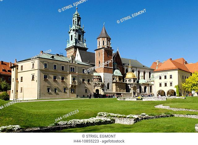10855223, Cathedral, Wawel hill, Krakow, Cracow, P