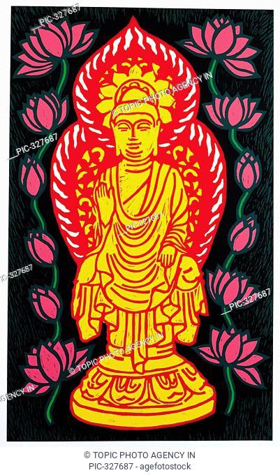 Illustration,Buddha