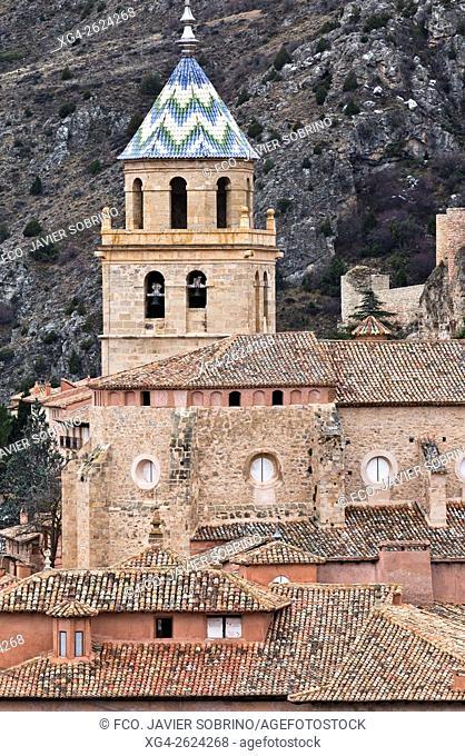 Catedral del Salvador - Albarracín, Teruel Province, Aragon, Spain