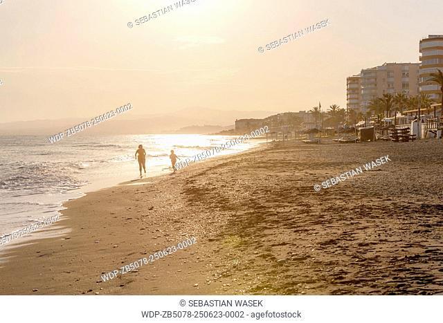 Playa Ferrara, Torrox, Costa del Sol, Malaga province, Andalusia, Spain, Europe