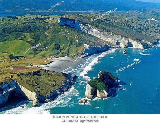 Nguroa Bay south of Cape Farewell West coast South Island New Zealand