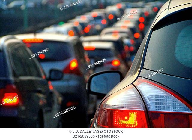 Traffic, cars