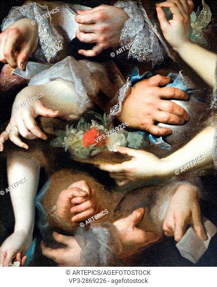 Nicolas de Largillierre. Etudes de mains - Hands study. 1715