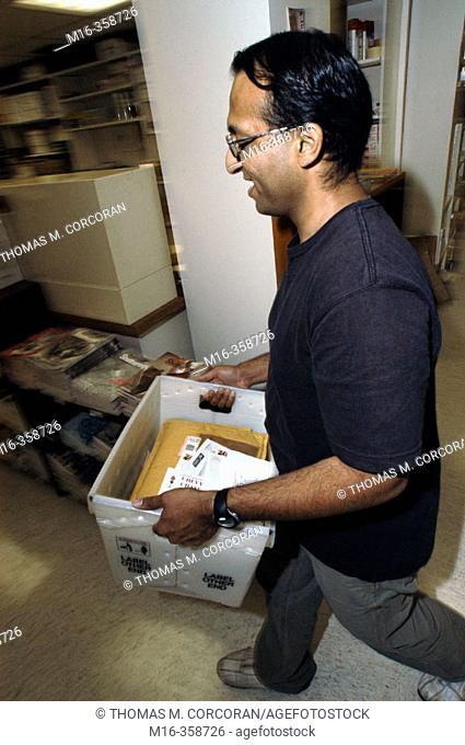 Mailroom incoming