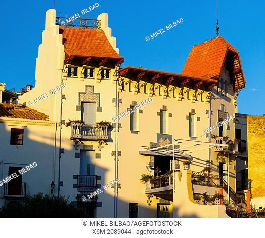Casa Blava (Blue House). Cadaques, Cap de Creus, Catalonia, Spain, Europe