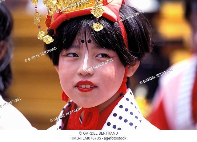 Japan, Honshu Island, Kinki region, Kyoto city, Gion Matsuri Festival in July