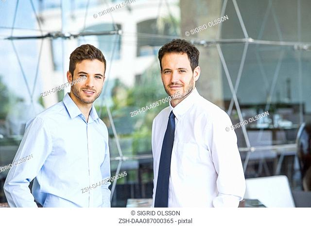Business partners, portrait