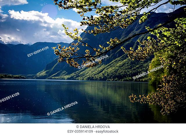 Bohinj lake, Slovenia, Europe