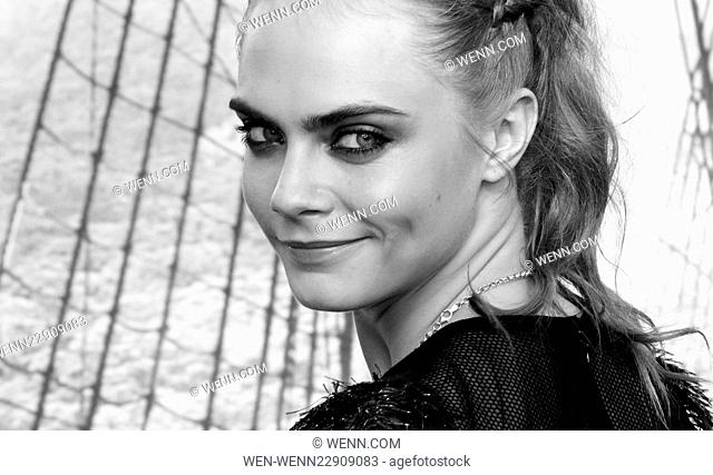 World Premiere of 'Pan' held at the Odeon Leicester Square - Arrivals Featuring: Cara Delevingne Where: London, United Kingdom When: 20 Sep 2015 Credit: WENN