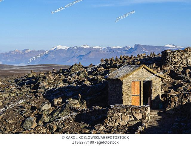 Andean Landscape, Arequipa Region, Peru