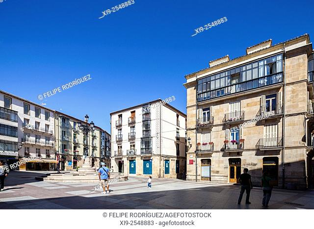 Plaza del Rosel y San Blas, Soria, Spain
