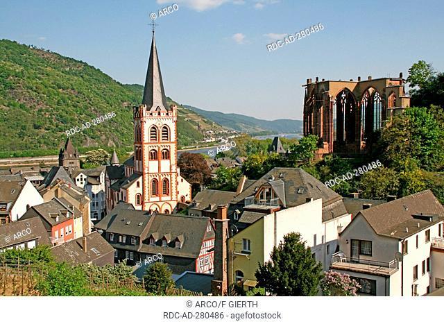 Church St Peter, Werner chapel, Bacharach, Rhineland-Palatinate, Germany