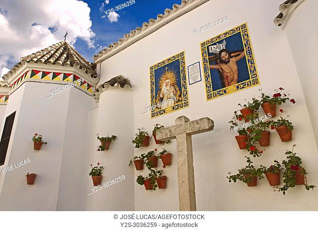 San Juan Bautista church. Cabra. Cordoba province. Region of Andalusia. Spain. Europe