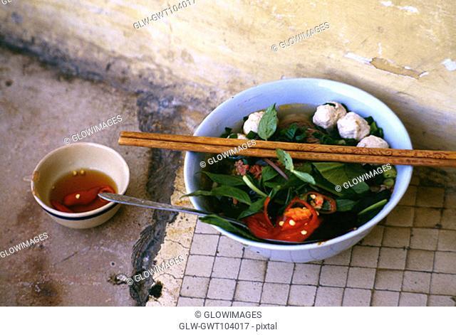 Soup Noodles, Ho Chi Minh City (formerly Saigon) Vietnam