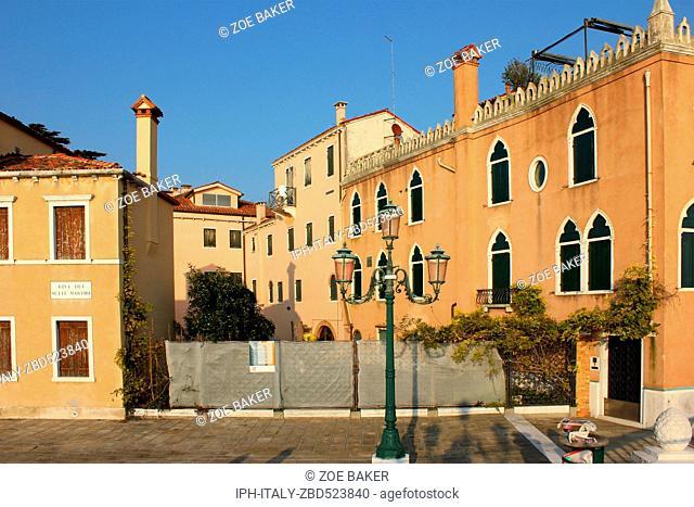 Italy Venito Venice Architecture, Riva dei Sette Martiri
