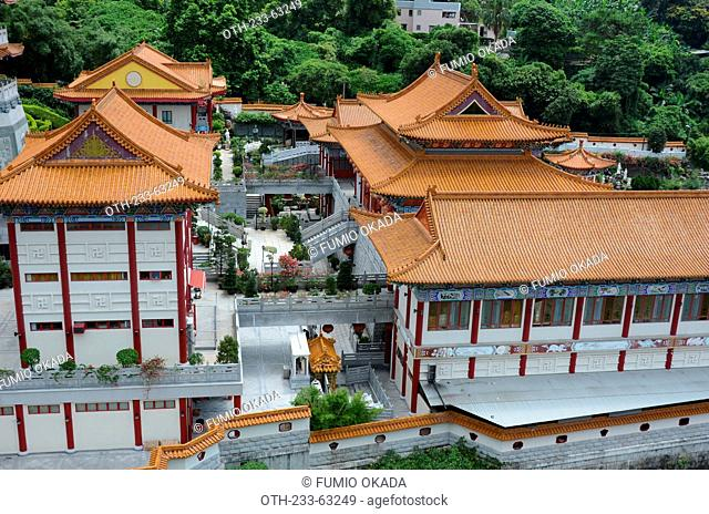 Western Monastery, Lo Wai, Tsuen Wan, Hong Kong