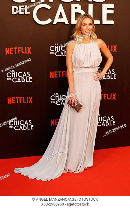 Premiere of the Netflix series Las chicas del cable.Kira Miro.Madrid. 27/04/2017.(Photo by Angel Manzano).