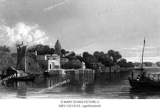 Kanpur, formerly ka Cawnpore, on the Ganges, will play an important part in the Indian Mutiny in the 1850s
