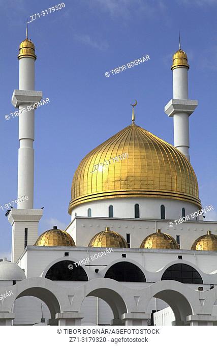 Kazakhstan; Astana; Nur Astana Mosque,