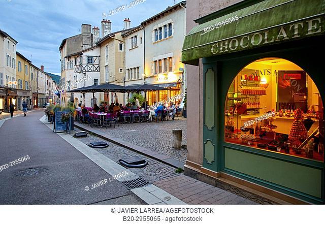 Cluny, Saone-et-Loire Department, Burgundy Region, Maconnais Area, France, Europe