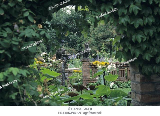Garden Weber - Kaenders, Kleve-Keeken, Lower Rhine, North Rhine-Westphalia, Germany, Europe