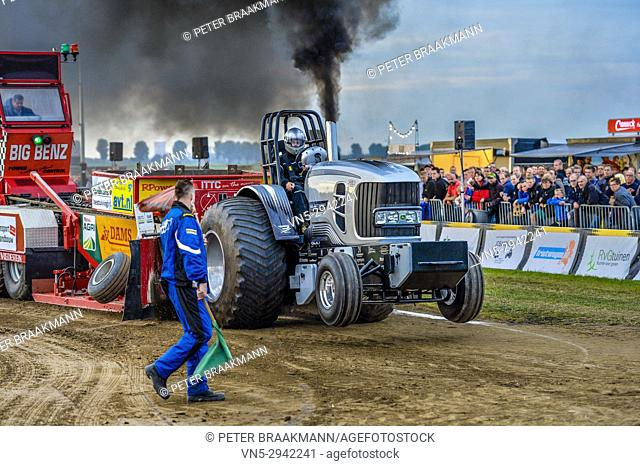 Tractor Pull event in Holland