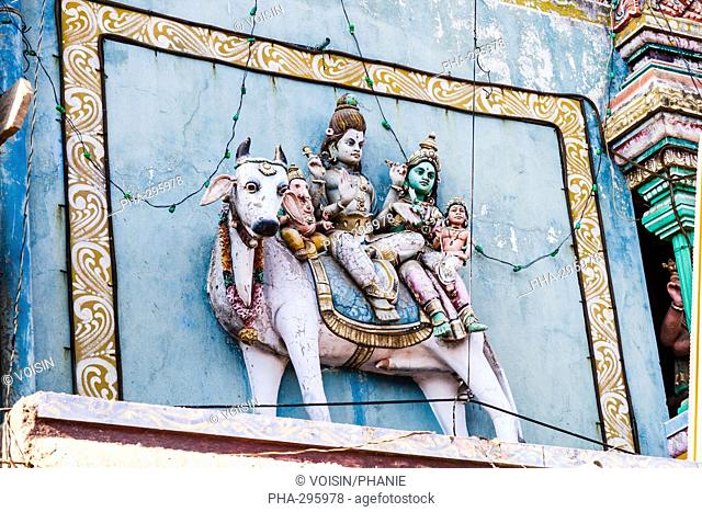 Shrine of Nataraja Chidambaram Tamil Nadu, India