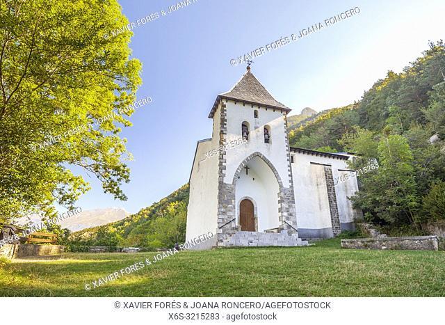 Santa Elena Hermitage, Tena Valley, Huesca, Spain