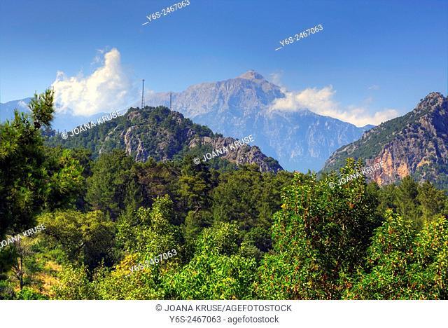 Tahtali Dagi, Mount Olympos, Lycia, Antalya, Turkey
