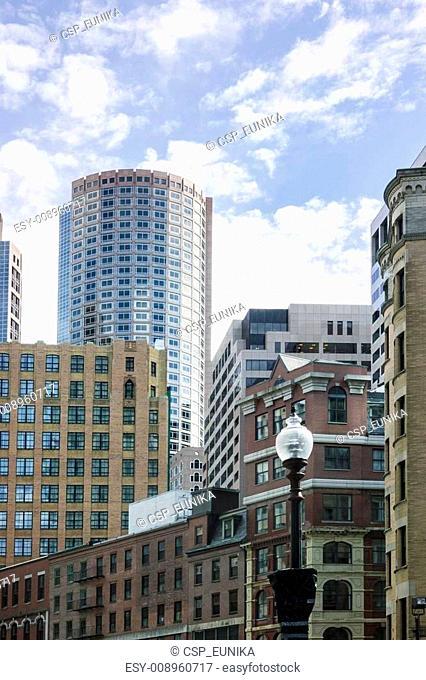 Skyscrapers in Boston
