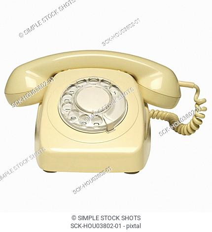 telephone with dial
