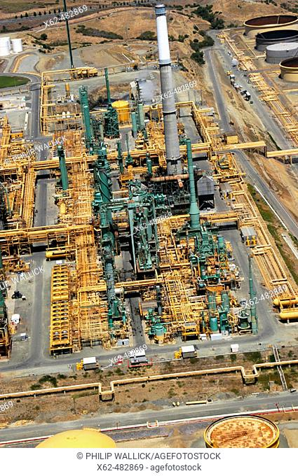 Oil refinery near San Francisco. California, USA