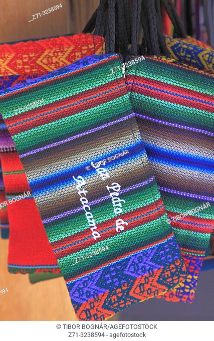 Chile, Antofagasta Region, San Pedro de Atacama, handicraft,