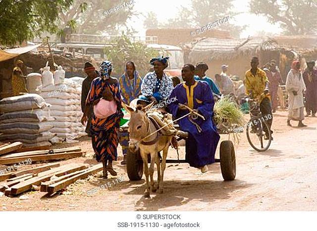 Sunday Market in Somadougou Outskirts of Djenne Mali