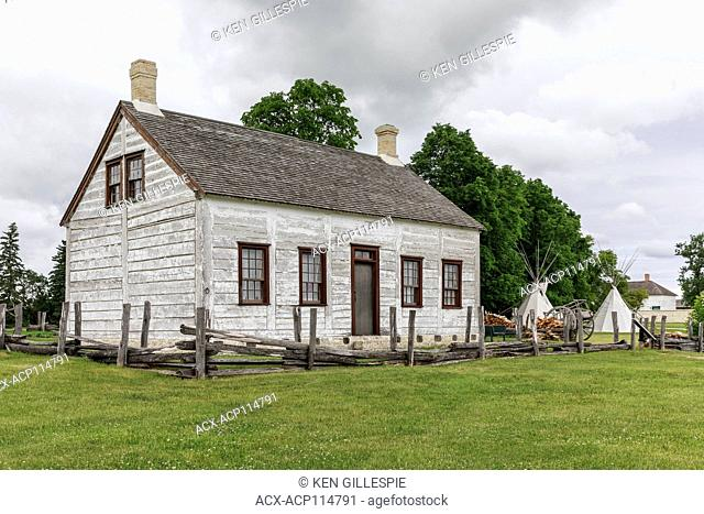 Lower Fort Garry National Historic Site, Manitoba, Canada