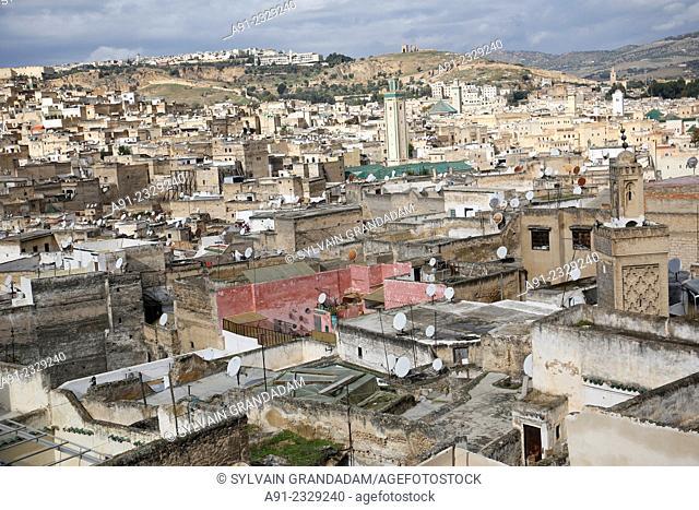 North Africa, Morocco, City of Fez Fes, Medina