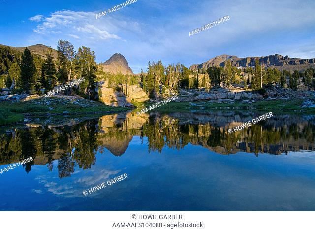 Alaska Basin Pothole Lake, Teton Canyon, Targhee National Forest, Idaho, alpine, Teton Mountains