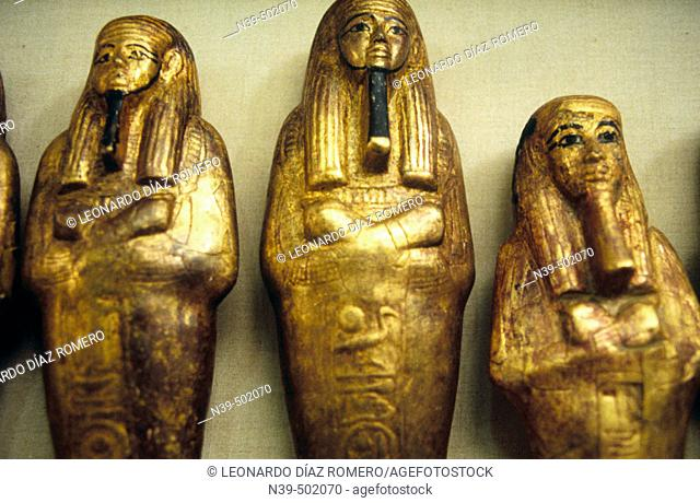 Pharaohs. Museum of Egyptian Antiquities. Cairo. Egypt