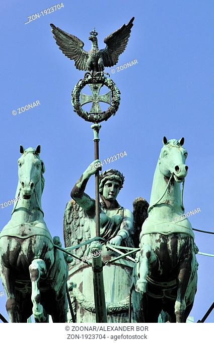 Quadriga on the Brandenburger Tor