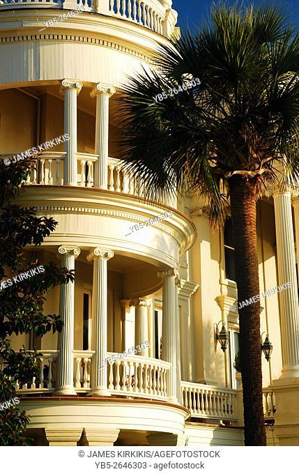 Curved Balcony, Charleston
