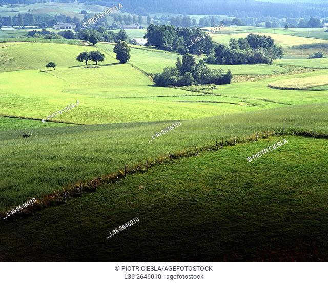 Suwalski region. North-eastern Poland