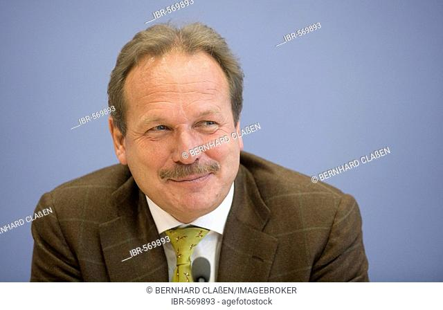 Frank BSIRSKE, chairman of the trade union ver.di, BERLIN, GERMANY