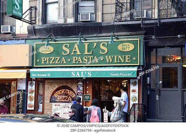 Sal's Pizza, Little Italy